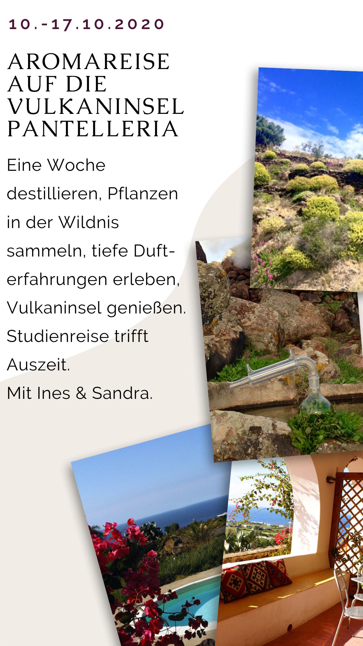 Aromareise auf die Vulkaninsel Pantelleria vom 10. bis 17. Oktober 2020