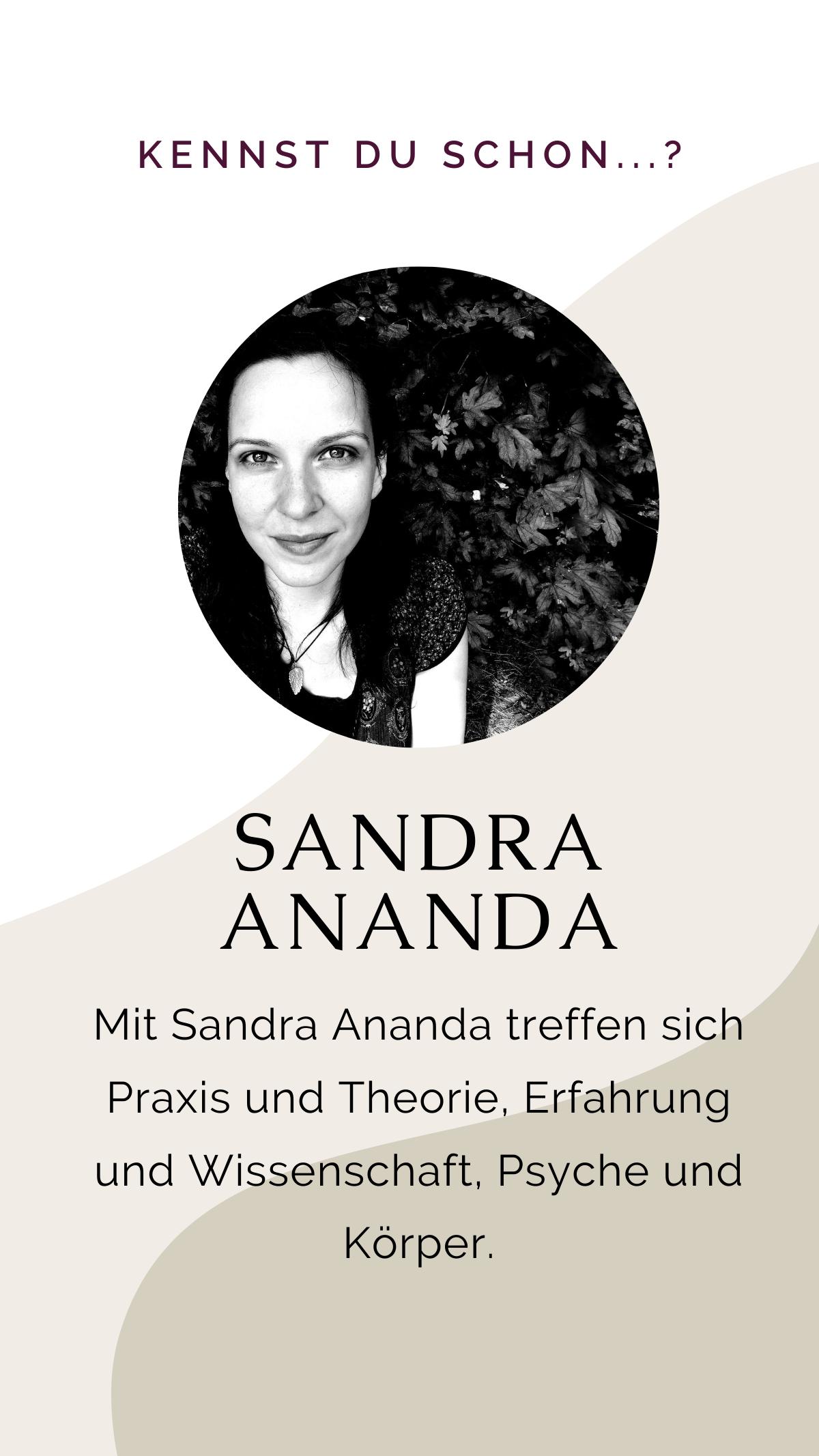 Über Sandra Ananda